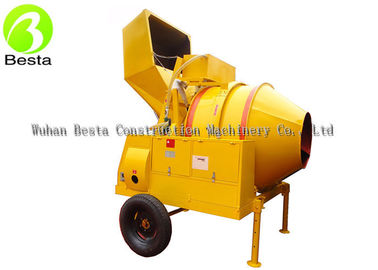 Thickened Air-Cooler Diesel Cement Mixer 560L / 800L 15HP Motor Power