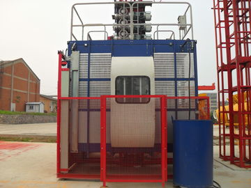 SC200 Construction Hoist Elevator For Passenger And Material Gear Driving