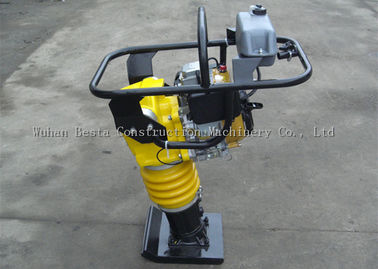 65mm Gasoline Vibratory Tamper Rammer Compactor For Sand / Soil